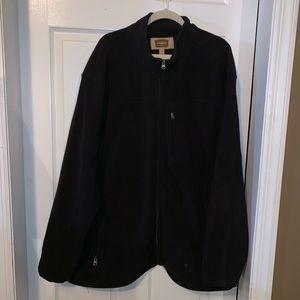 Other - Men's 4X black zipper fleece w/ pockets